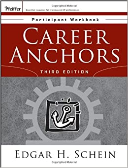 Book Career Anchors: Participant Workbook (J-B US non-Franchise Leadership)