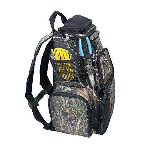 084298636042 - Wild River Tackle Tek Nomad Mossy Oak Camo LED Lighted Backpack, Fishing Bag, Hunting Backpack carousel main 6
