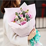 Korean Style Flower Wrapping Paper Floral Bouquet