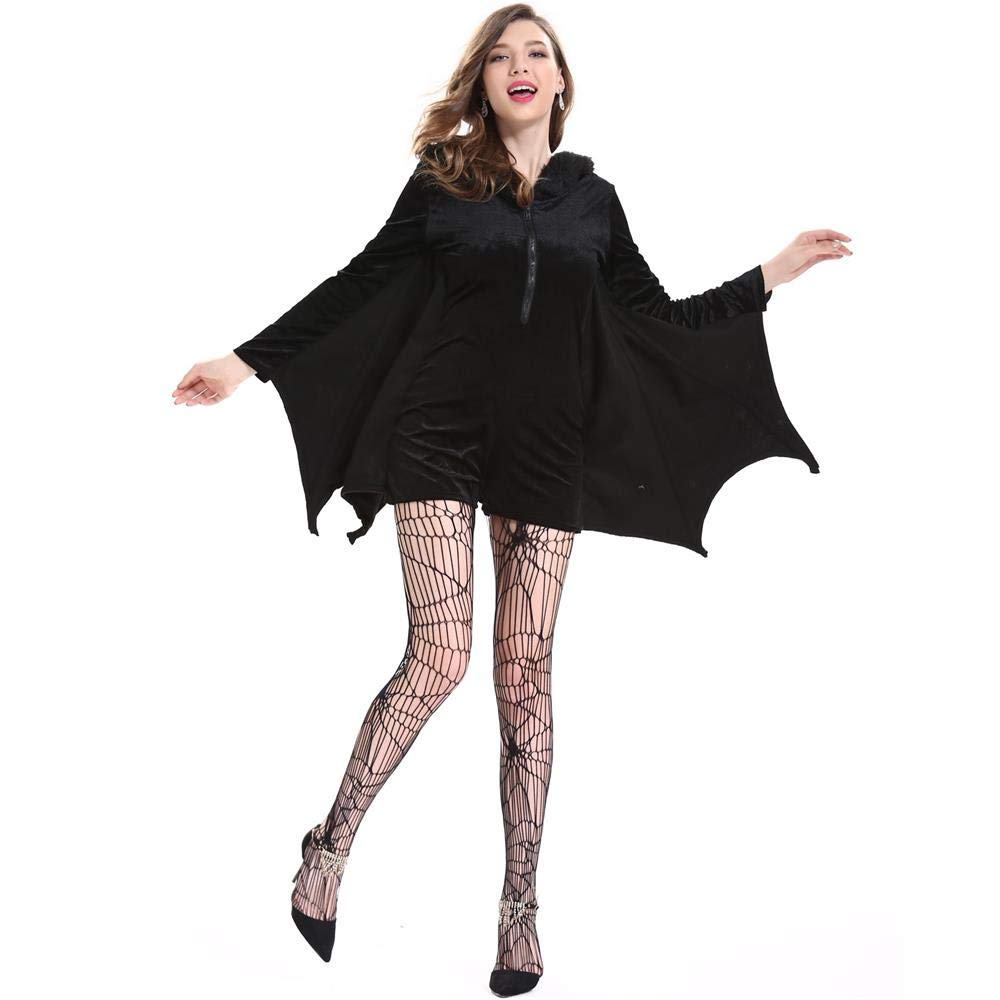YOUTH UNION Women's Halloween Cosplay Costume Bat Vampire Dress Up (L) by YOUTH UNION (Image #7)