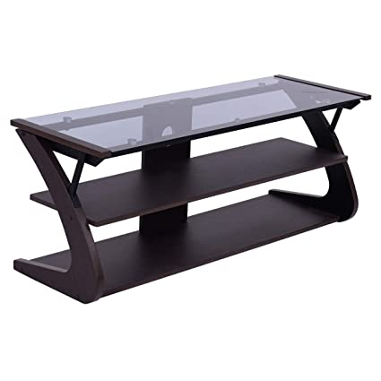 Amazon.com: Cypressshop TV Stand Console Compact ...