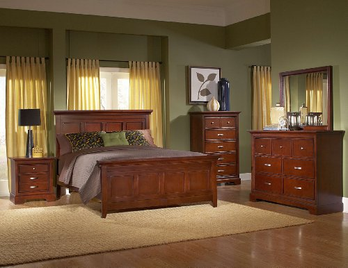 Homelegance Pottery (Glamour Eastern King Bed By Homelegance)