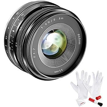 amazon com lightdow 35mm f1 7 22 e mount aps c fixed prime lens rh amazon com Sony NEX 3 Battery Sony NEX 3 Charger
