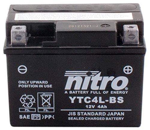 NITRO YTC4L-BS -N- Batterie Moto AGM Fermé DC AFAM fr automotive DCAFA