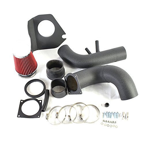 Performance Cold Air Intake Kit with Lifetime Red Oiled Filter for 1996-2004 Ford Mustang Engine 4.6L 281Cu. V8