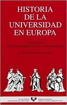 Mejortorrent Descargar Historia De La Universidad En Europa. Vol. 1. Las Universidades En La Edad Media PDF A Mobi