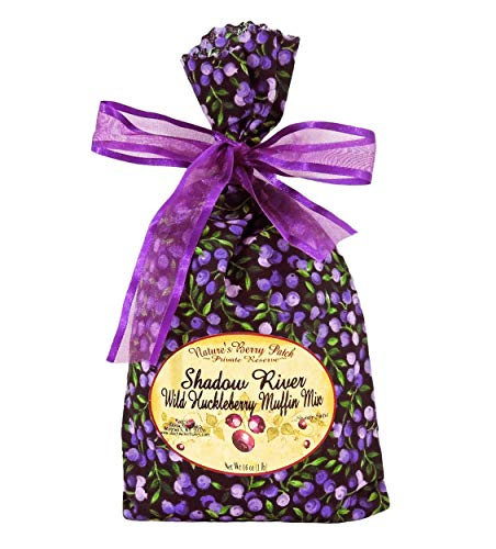 Shadow River Wild Huckleberry Gourmet Muffin Mix 16 oz ()