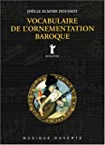 Vocabulaire de l'ornementation baroque