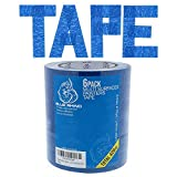 Blue Painters Tape 1 inch x 70 Yards - 6 Roll Value Pack | 14 Day Clean Removal | Perfect for Multi-Use | Get The Pro Look, Without The Pro Price | Free E-Book