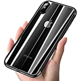 Software : iPhone X Case, COOLQO [Support Wireless Charging] Ultra-thin Crystal Clear Soft Flexible TPU Bumper Slim Electroplating Transparent Protective Cover & Skin For Apple iPhone 10 / X 5.8 inch (Black)