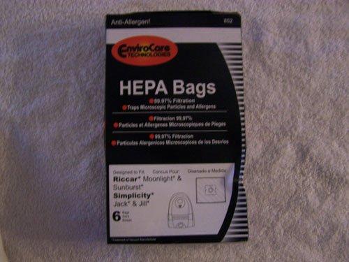 Hepa Bags by Envirocare Technologies - 6pk.
