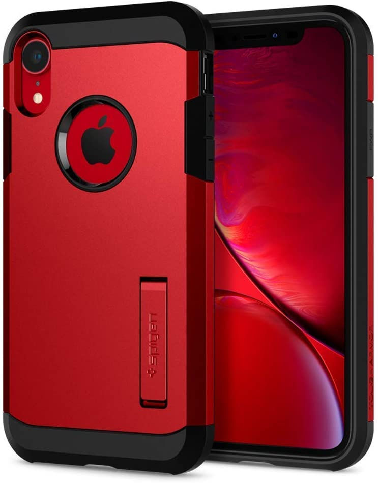 Spigen Tough Armor Designed for iPhone XR Case (2018) - Red