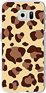S6 Case Samsung Galaxy S6 Cover brown personalized leopard pattern sale on ZENG Case