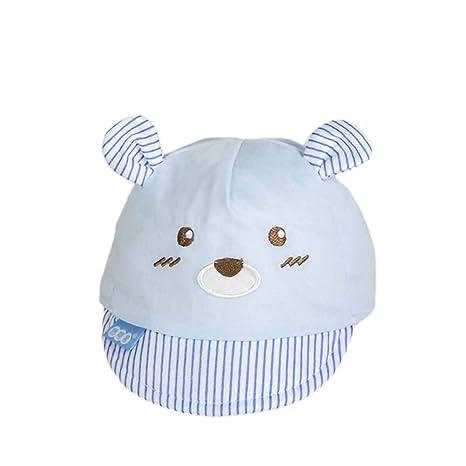 Sombrero de Oreja de Oso Tímido Durante 0 a 3 Meses Bebé Recién ...