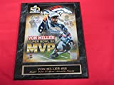Von Miller Denver Broncos Super Bowl MVP Engraved Collector Plaque w/8x10 Photo