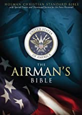 HCSB Airman's Bible, Blue LeatherTouch