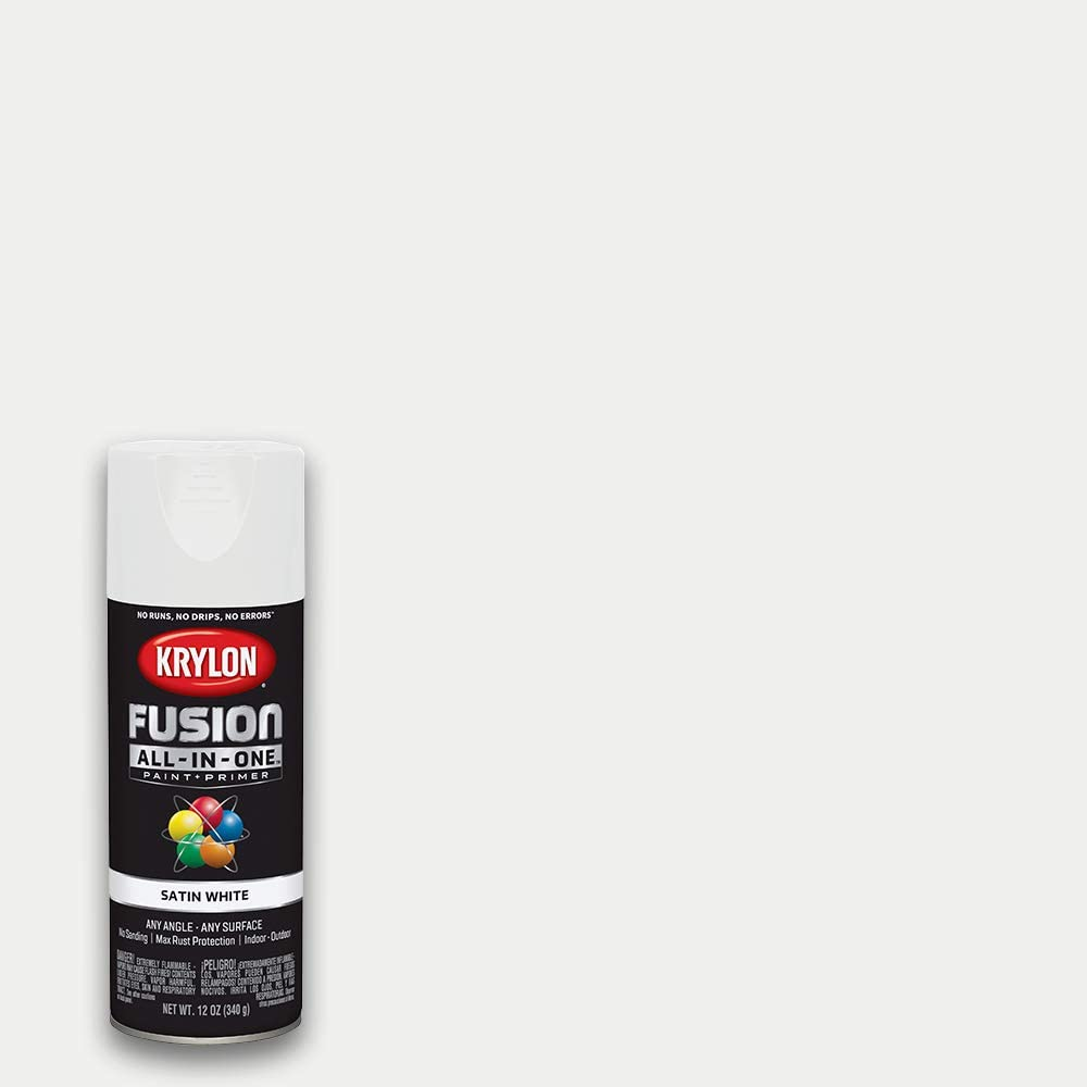 Krylon K02753007 Fusion All-In-One Spray Paint, White