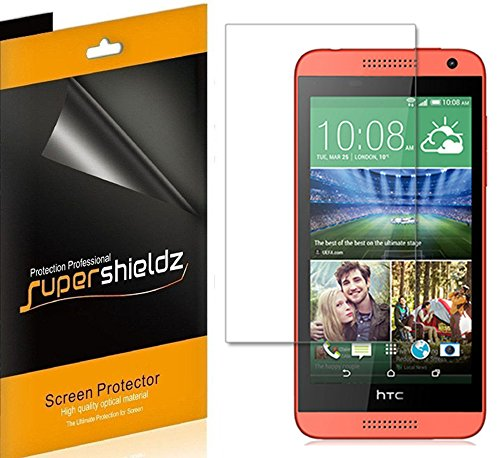 z- Anti-Bubble High Definition Clear Screen Protector for HTC Desire 610 (AT&T) + Lifetime Replacements Warranty - Retail Packaging ()
