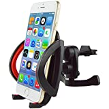 [UPGRADED COMPONENT]Car Vent Mount,IPOW Universal Cell Phone Car Air Vent Mount Holder Cradle For iPhone 6 6+ 6S 6S Plus 5S 5,iPod Touch,Samsung Galaxy S6 S6 Edge S5 S4 S3 Note 2/3