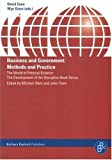 Business and Government : Methods and Practice, Andreas Broscheid, David Coen, Wyn Grant, Cathie Jo Martin, Volker Schneider, Graham K. Wilson, 386649033X