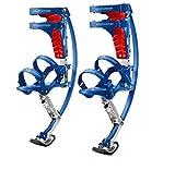 Jump-bird Jumping Stilts Pogo Stilts 66-110lbs/30-50kg Blue