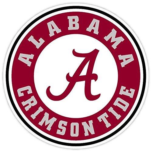 Alabama Crimson Tide Decals - Crawford Graphix Alabama Crimson Tide Vinyl Sticker 12