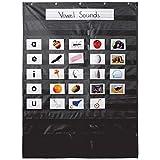 Carson Dellosa 158570 Black Pocket Chart