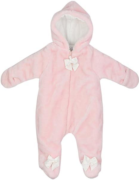 6cbfdadcc BOOPH Baby Hooded Fleece Jumpsuit Romper Newborn Play and Sleep ...