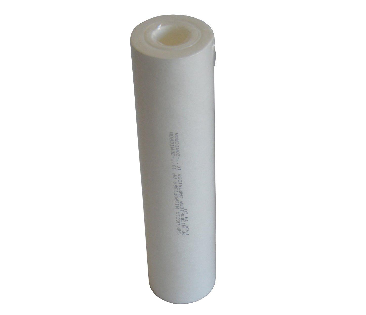 Biowater Cartouche pour filtre à eau 10'' (25,4cm) 20microns