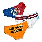 #8: Harley Quinn 3 Pack Panty set, Suicide Squad Exclusive underwear Medium panties dc comics
