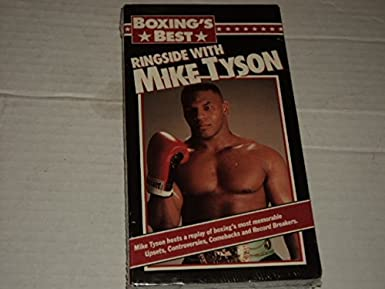 amazon com boxings best ringside with mike tyson vhs mike tyson