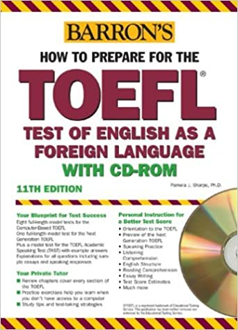 FL Book 2 - Cracking the TOEFL IBT with Audio CD, 2009 Edition (College Test Prep) (Paperback)