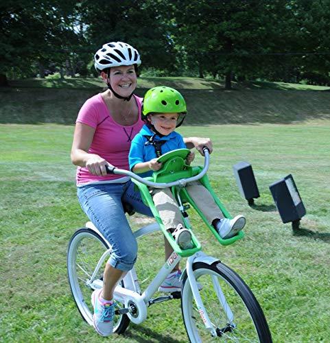 iBert Child Bicycle Safe-T-Seat, Green by iBert (Image #4)