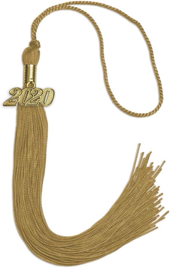 Purple Newrara Graduation Tassel with Year Charm 9-inch