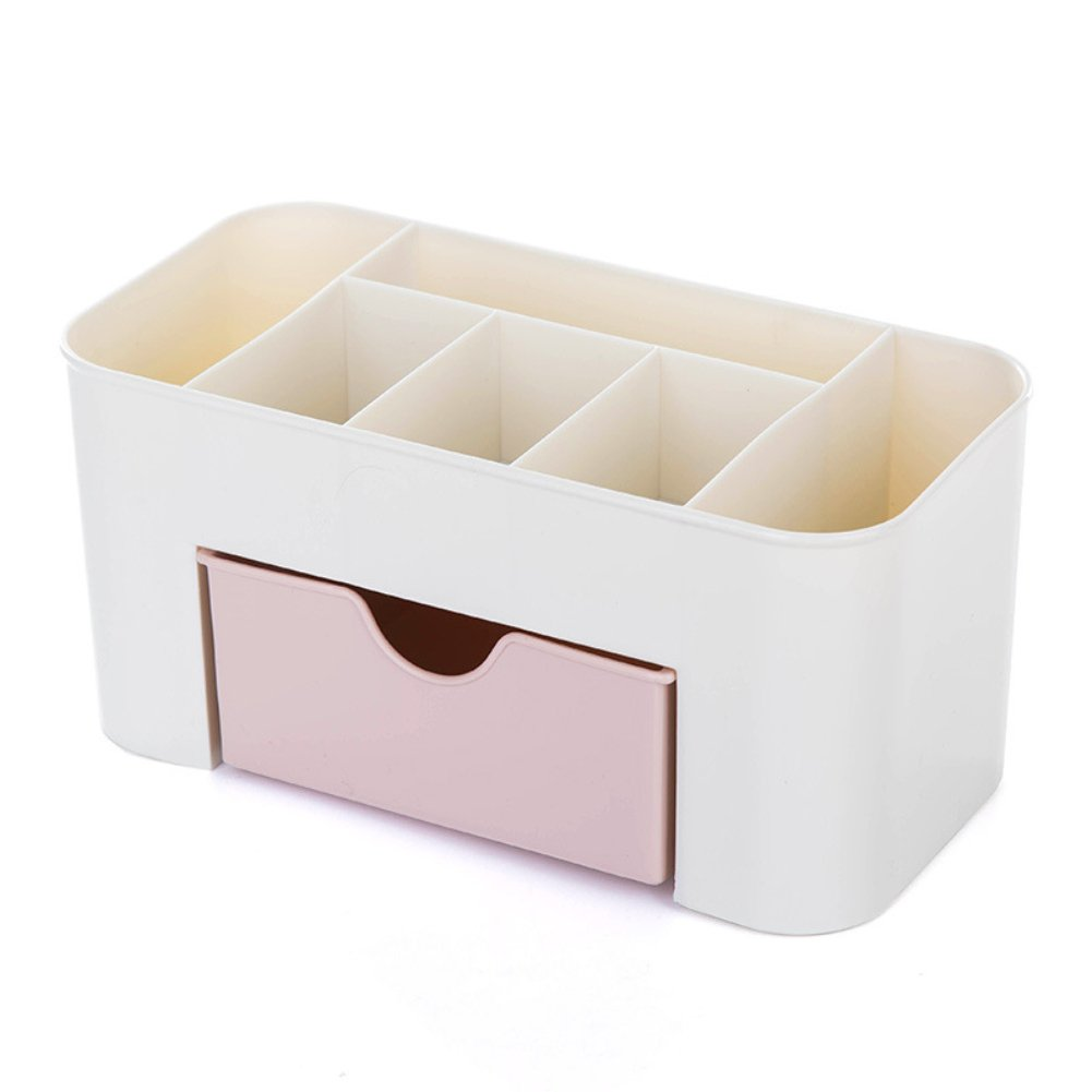 SWIDUUK Desktop Makeup Comestics Jewelry Stationery Storage Drawer Type Durable Saving Space Box