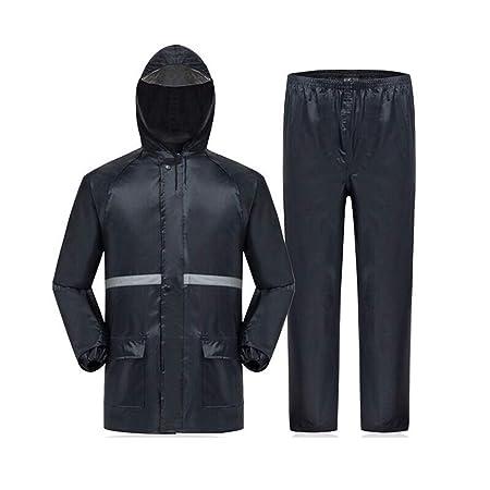 BESISOON-MCL Chaqueta Impermeable/Traje Pantalón Pantalones ...
