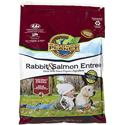 Natural Planet Organics Grain Free Rabbit & Salmon - 5Lb