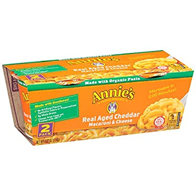 Annie's Macaroni and Cheese, Real Aged Cheddar, 4.02 oz