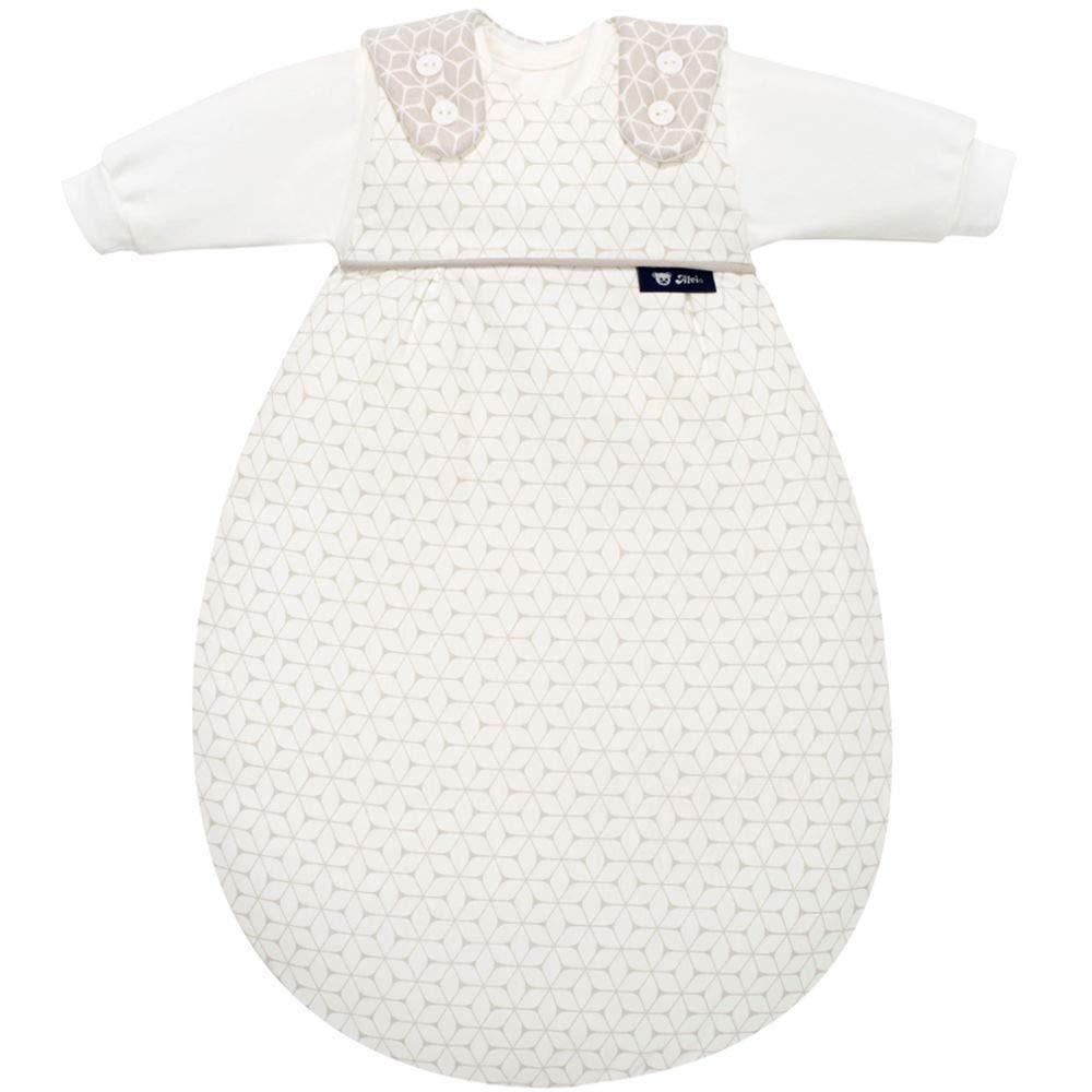 Alvi Baby-Mäxchen 3tlg. Graphic taupe, Größe 50 56