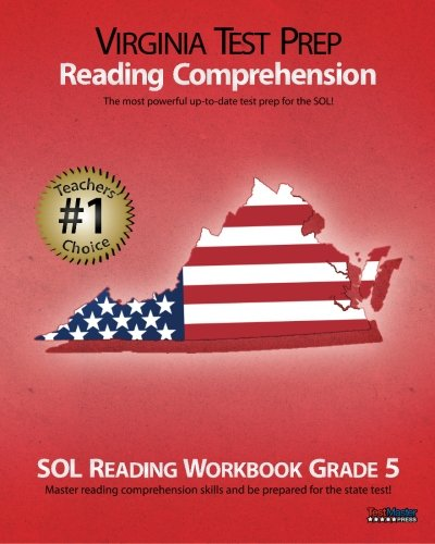 VIRGINIA TEST PREP Reading Comprehension SOL Reading Workbook Grade 5