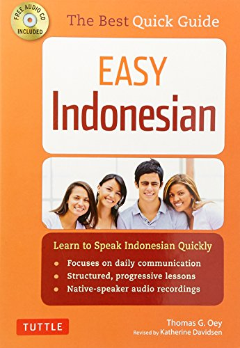 Easy Indonesian: Learn to Speak Indonesian Quickly (Audio CD - Indonesia Speak