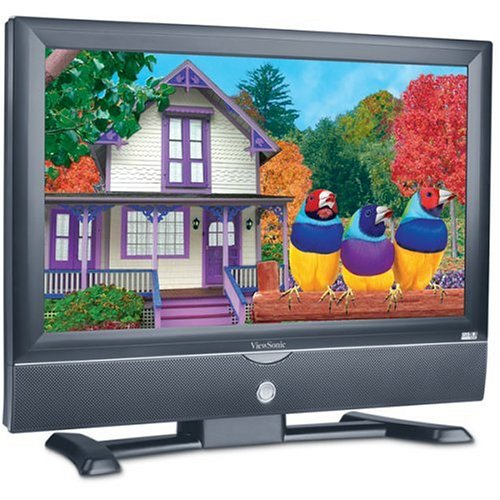 ViewSonic N2750w 27-Inch NextVision HD-Ready Flat-Panel LCD TV, Black