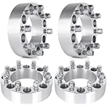 "ECCPP Wheel Spacer, 2"" 4PCS 8x6.5/8x165.1 Wheel Spacers 8 lug Adapters for Dodge Ram 2500 Ram 3500 W250 W300 with 9/16 STUDS"