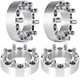 Wheel Spacers,SCITOO 4X 2'' 50mm Thick 8x6.5 8x165.1mm 9/16'' Studs 8 lug Wheel Spacers For Dodge Ram 3500 Ram 2500 Ford F-350 F-250