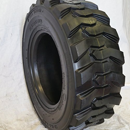 (1-TIRE) 10-16.5 Skid Steer Loader Tire, 14 PLY, NHS SKS 400 by ROAD WARRIOR