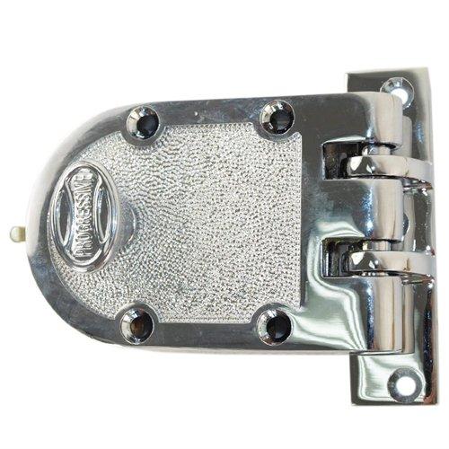 Progressive 1776-26 Polished Chrome US26 Grade 1 Single Cylinder Jimmy Proof Deadlock Deadbolt Lock Set