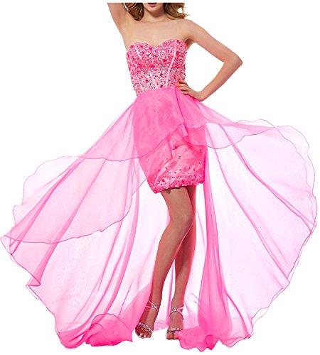 Abendkleider Ivydressing Hi Ballkleid Etui Lo Steine Spitze Cocktailkleider Traegerlos Partykleid Pretty Damen Organza 8CwrvnCYq