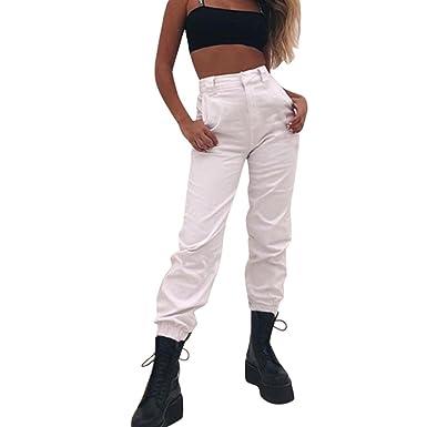 2bd06bbb48 ADESHOP Femmes Baggy Hip Hop Danse Jogging Pantalon De SurvêTement  Pantalons Pantalons De Sport De Mode