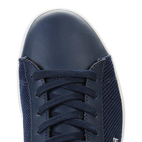 Lacoste Junior Azul Marino Carnaby EVO 117 2 SPJ Zapatillas