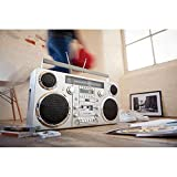 GPO Brooklyn 1980S-Style Portable Boombox - CD